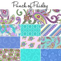punch of paisley - jelly roll 20 piece
