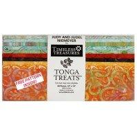 "Tonga Treats bird of paradise 10"" Charm pack"