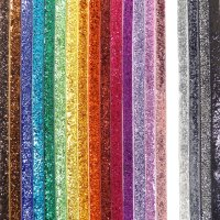 10mm glitter velvet ribbon rolls