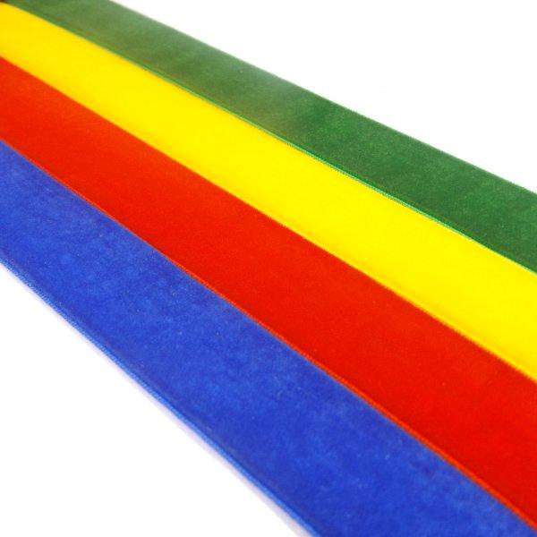 Single Sided Velvet Ribbon By The Metre