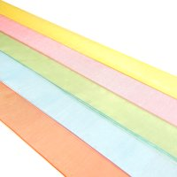 25mm organza ribbon polyester