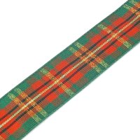 classic scottish tartan ribbon 25mm