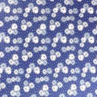 night garden floral cotton fabric