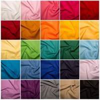 cotton klona solid fabric