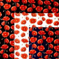 poppies cotton poplin fabric
