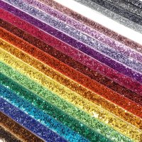 10mm glitter velvet ribbon metres