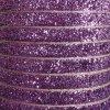 pink - 10mm glitter velvet ribbon metres