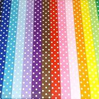 22mm polka dot grosgrain ribbon full rolls