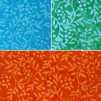 floral batiks printed cotton fabric