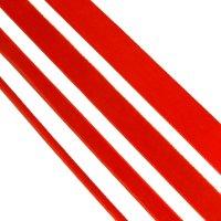red single velvet ribbon