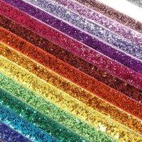 25mm glitter velvet ribbon by the metres