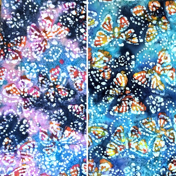 Batik Butterflies Design