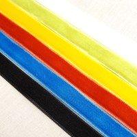 velvet ribbon 10mm single by the metre