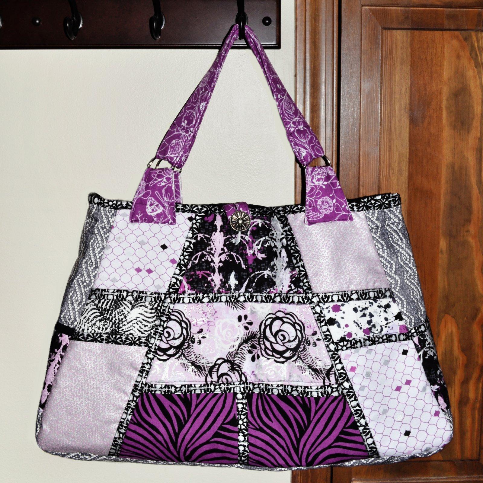 The City Bag Patchwork Design