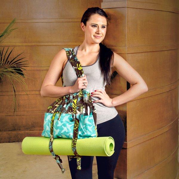 Simple Make Your Own Yoga Bag Design