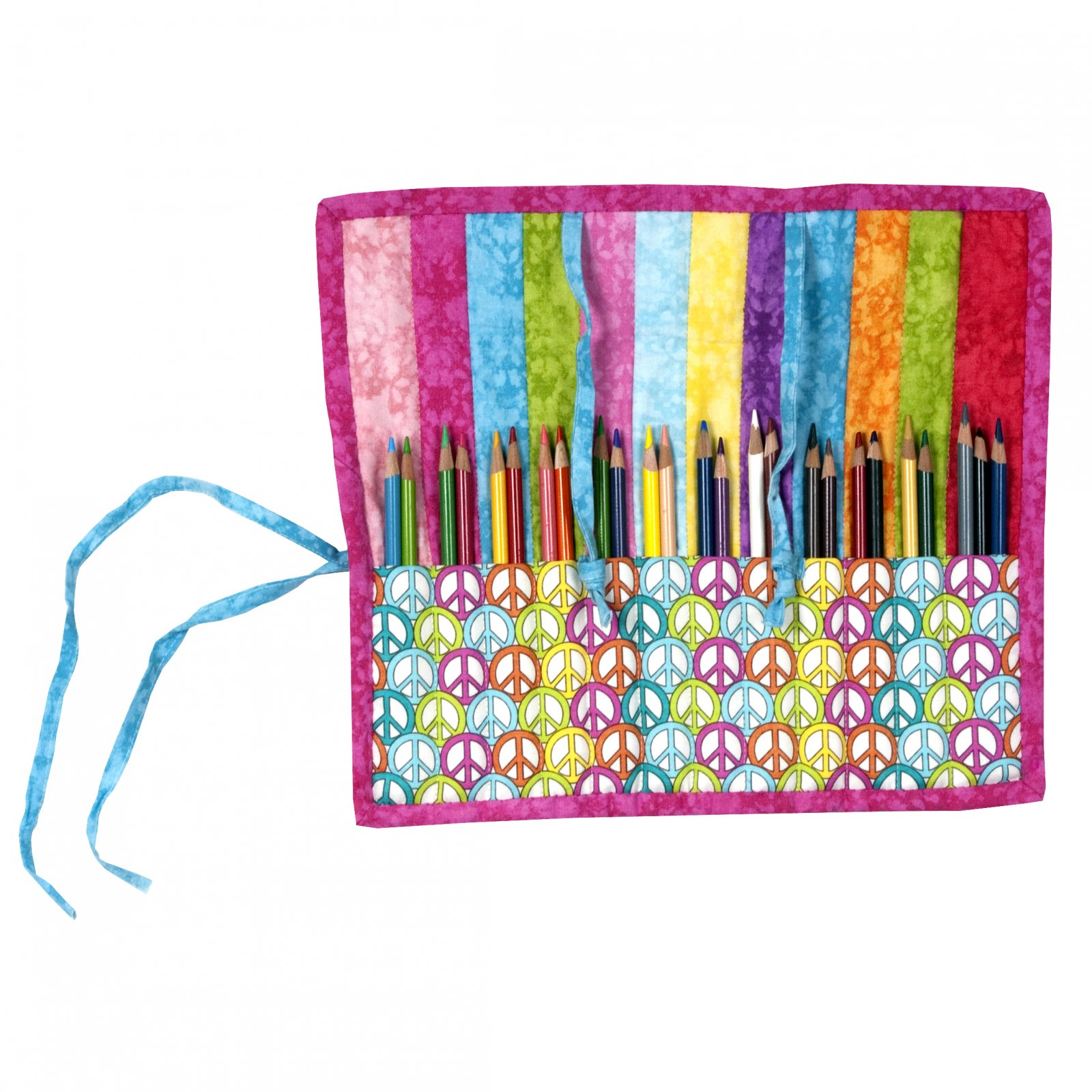 Great Roll Up Fabric Pencil Case